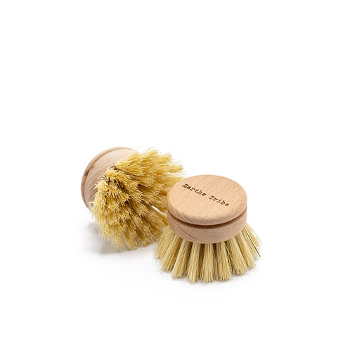 Replacement head for dish brush - plant based
