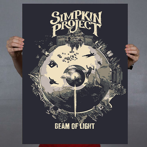 Limited Edition Beam of Light 18x24 Poster