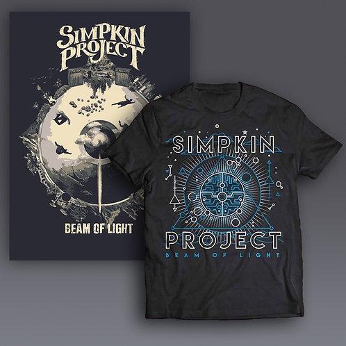 Beam of Light LE Poster + T-Shirt Bundle