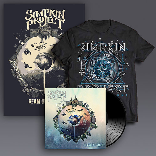 Beam of Light LE Poster+Vinyl+Tshirt Bundle