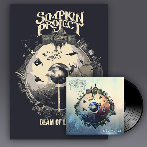 Beam of Light LE Poster + Vinyl Record Bundle