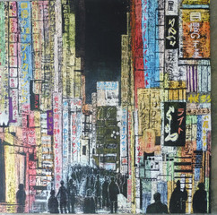 sylvie quinot Le Vesinet -Tokyo- acryliq