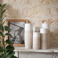 Geraldine K ceramiste grands vases ikeba