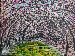 sylvie quinot - Le Vesinet- cerisier e n