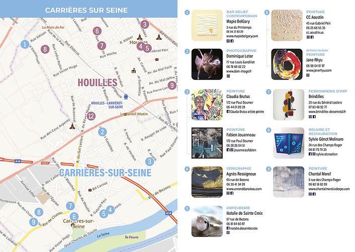 Parcours d'art à Carrières-sur-Seine