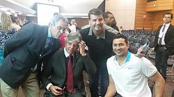 Geraldo Nogueira com personalidades