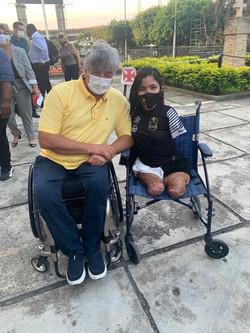 Geraldo Nogueira em Lançamento do Projeto Vasco Paralímpicos - 2021