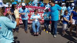 Caminhada do Dia Mundial de Conscientização do Autismo