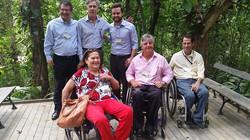 Geraldo Nogueira com diretores do JB