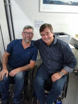 Geraldo Nogueira com Andre Cadeirinha -