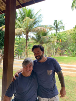 Geraldo Nogueira e seu filho Marcos Nogu