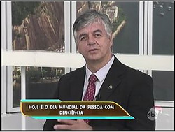 Geraldo Nogueira em entrevista SBT