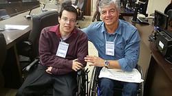 Geraldo Nogueira com Thiago