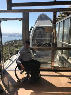 Geraldo Nogueira no Morro do Pão de Açucar