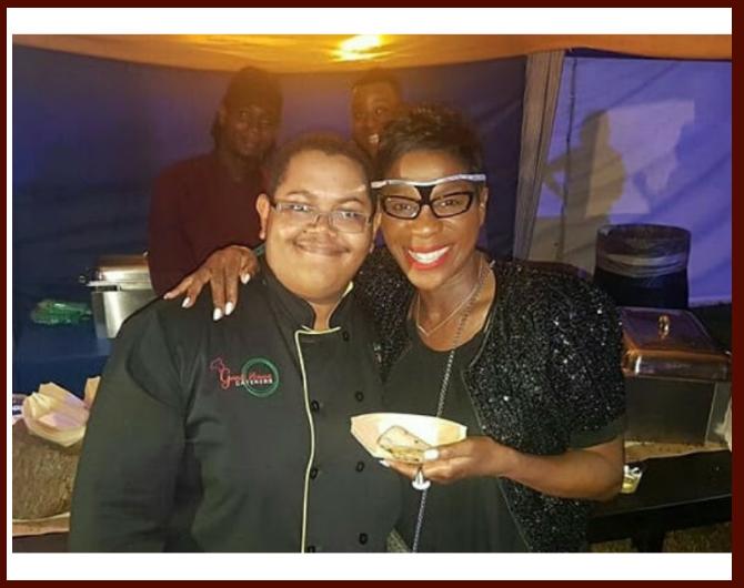 Chef Theo & Novia McDonald-Whyte