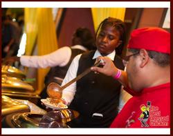 Chef Theo at Pasta Supreme Event
