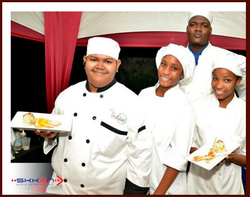 Chef Theo & Team at Chefs on Show