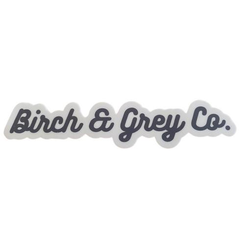 Birch & Grey Co. Sticker