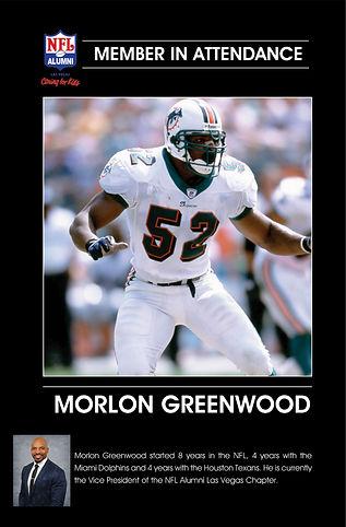 Morlon Greenwood - Member in attendance.