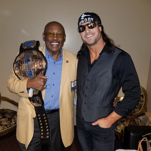 Floyd Little & Johnny Impact