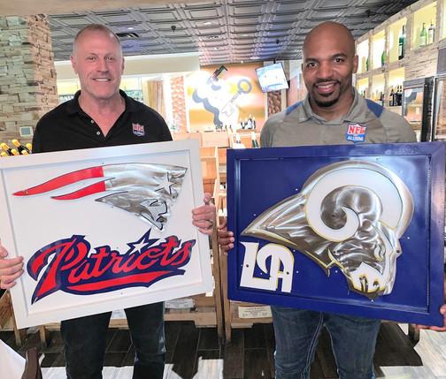 Linden King & Morlon Greenwood NFL Alumn