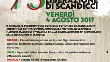 73° anniversario Liberazione Scandicci