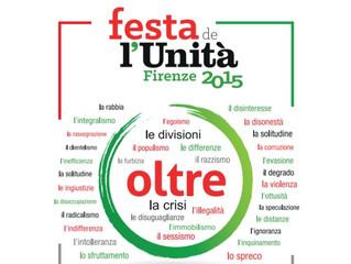 Inizia la Festa de l'Unità 2015 di Firenze!