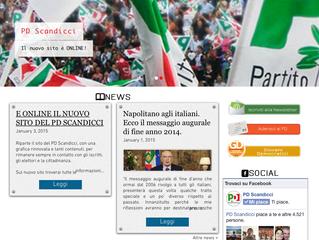È ONLINE il nuovo sito del PD Scandicci