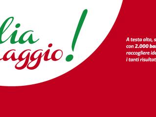 Italia, coraggio!