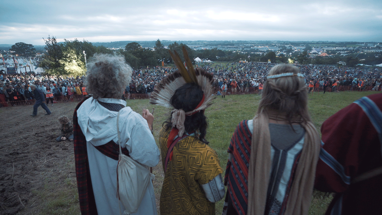 Opening Ceremony at Glastonbury Festival 2019
