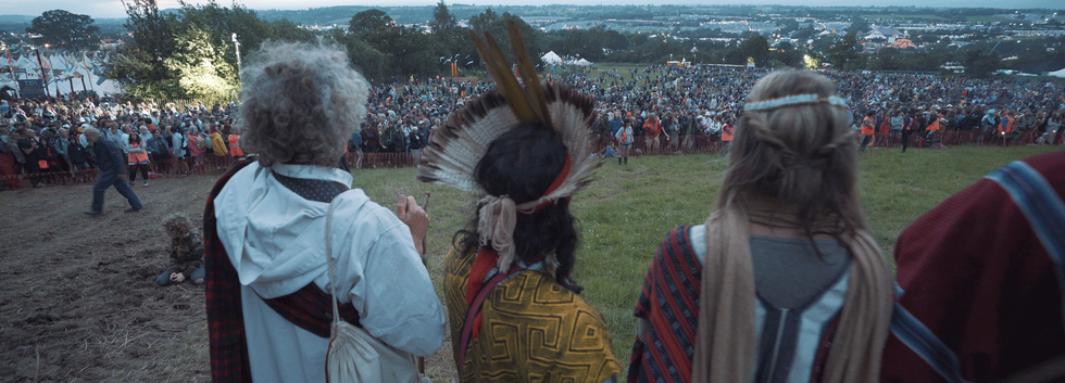 Opening Ceremony at Glastonbury Festival 2019