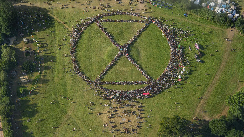 Extinction Rebellion Procession