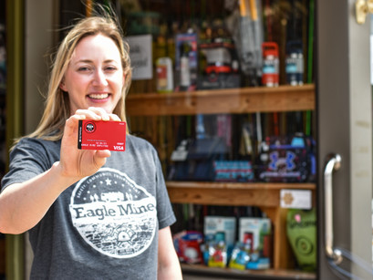 Eagle Mine provides its employees with a $500 gift card to help spur the local economy