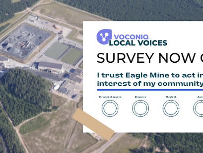 Eagle Mine Local Voices Survey Now Open