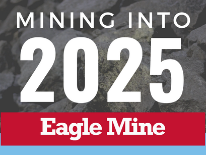 Eagle Mine Extends its Life of Mine