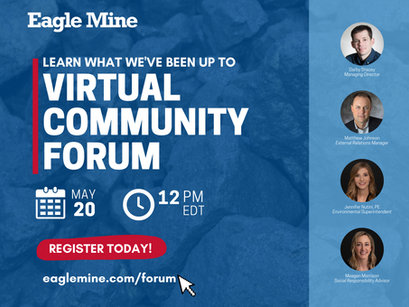 Join us for a virtual community forum on May 20