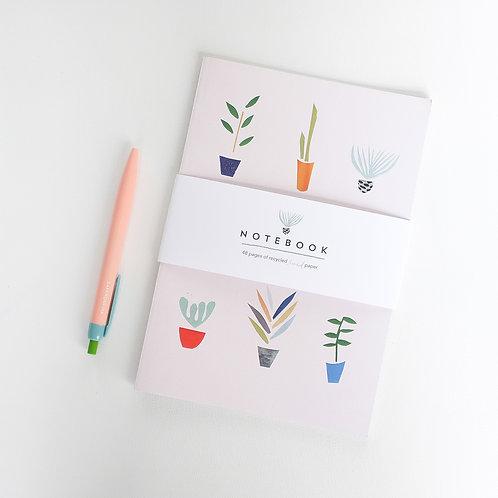 Pot Plants Notebook