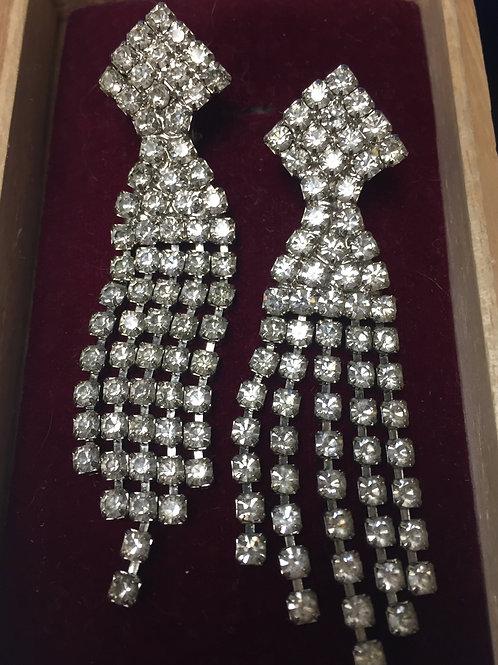 Rhinestones Party Earrings