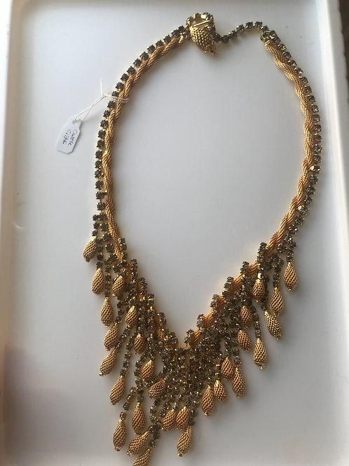 Rhinestone & Bauble Necklace