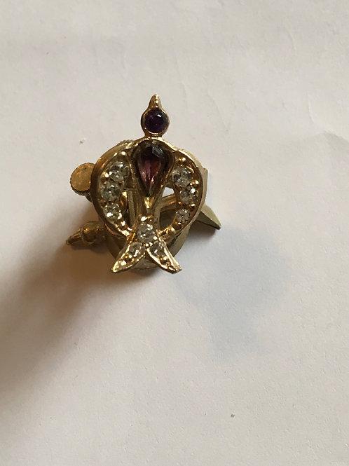 Clip on bird earrings
