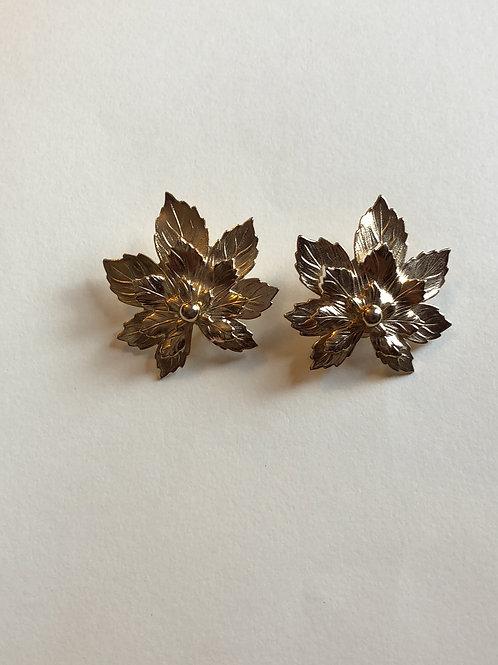 Leaf Clip-on Earings