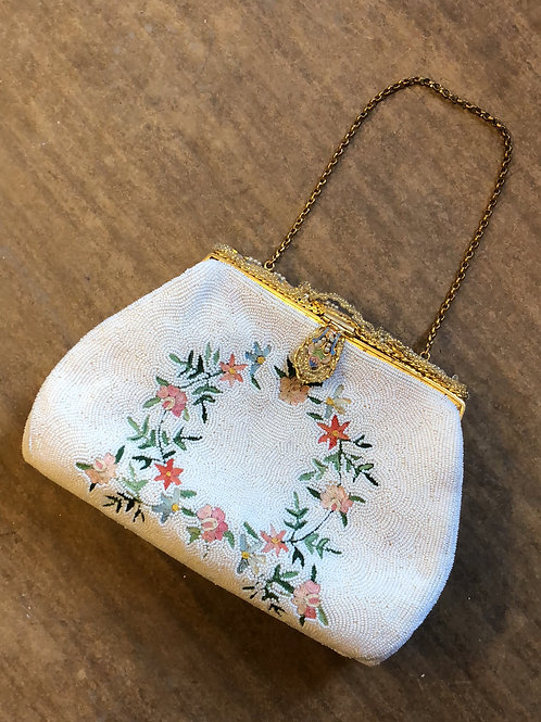 Designer beaded purse
