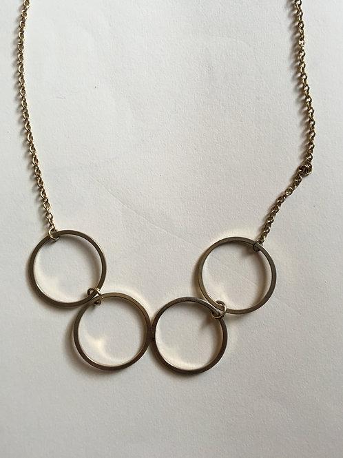Vintage Four Circle Necklace