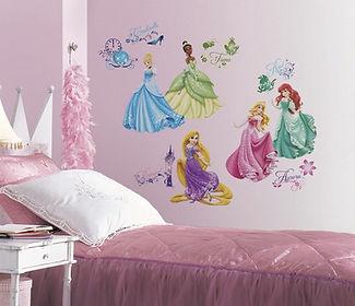 RoomMates Disney Prinsessen - Muursticke