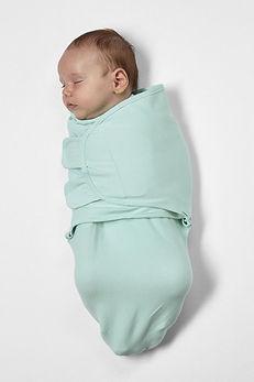 baby in SwaddleMeyco Inbakerdoek - 0-3 m