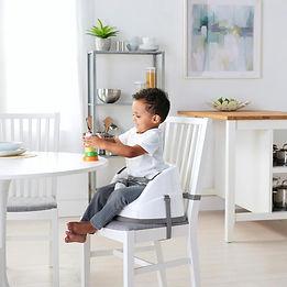 Ingenuity Baby Base 2-in-1 Stoelverhoger - Wit en grijs.jpg