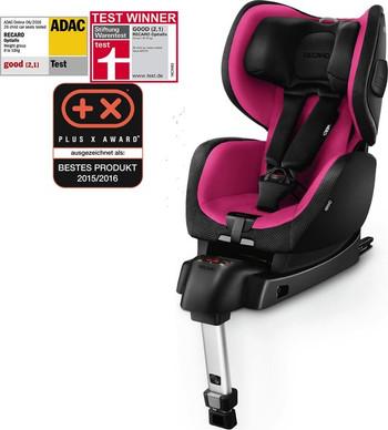 Recaro optiafix autostoel roze zwart
