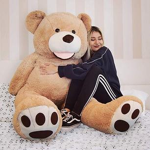 MikaMax Grote Teddybeer XL - Knuffeldier - Knuffelbeer-min.jpg