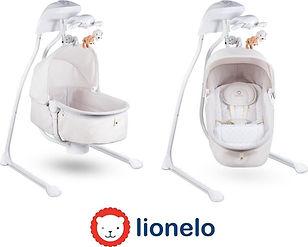 Lionelo Henny - Wieg en schommelstoel -