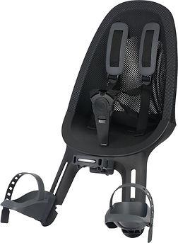Qibbel Air Kindersitz Fahrrad vorne Black